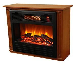 AHP XAEF-23-A Infrared Fireplace Oak