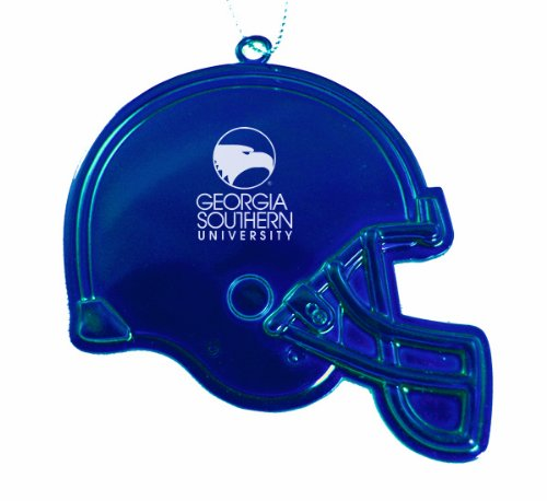 Georgia Southern University - Chirstmas Holiday Football Helmet Ornament - Blue at Amazon.com