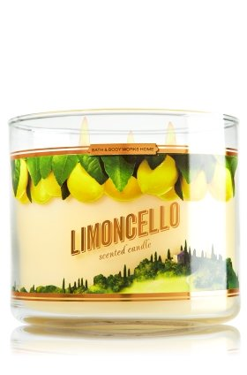 Bath & Body Works 2014 Limoncello Bougie parfumée à 3 mèches 14,5 oz/411 g