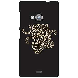 Nokia Lumia 535 Back Cover - (Printland)