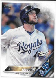 Alex Gordon 2016 Topps Kansas City Royals Card #206