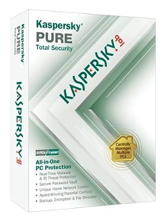 Kaspersky Pure 3-User [Old Version]