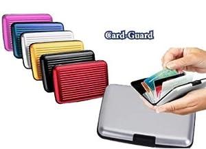 Card Guard Aluminum Wallet/Credit Card Case (Assorted Colors) (Silver)