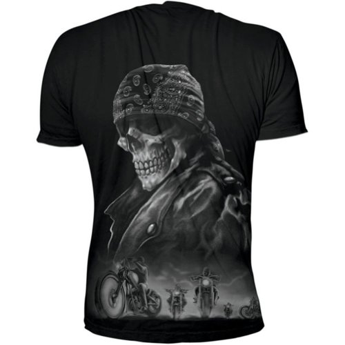 2013 Lethal Threat Men's Biker From Hell T-Shirt - Medium