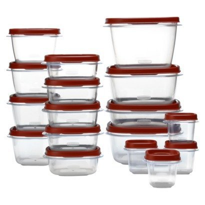 Rubbermaid 34-pc Easy Find Lids Set (The Lid Maid compare prices)