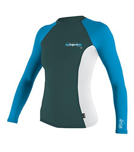 O 39 neill wetsuits uv sun protection womens skins long for Uv long sleeve shirt womens