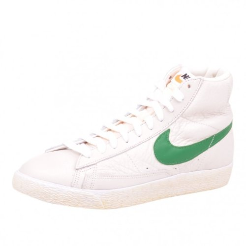 Nike Blazer Mid PRM Schuhe Sail/ Green/ White/ Brown, Größe:40