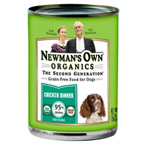 Newman's Own Organics USDA Organic 95% Chicken Grain-Free Di