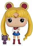 Funko POP Anime: Sailor Moon with Luna Action Figure