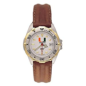 NSNSW21894P-Ladies University of Miami All Star Watch by NCAA Officially Licensed