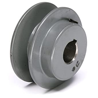 "TB Woods 2AK2078 FHP Bored-To-Size, 2.05"" Outside Body Diameter, 0.875"" Bore Diameter V-Belt Sheave"