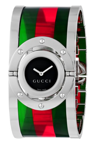 "Gucci Women's YA112417 ""Twirl"" Stainless Steel Watch"