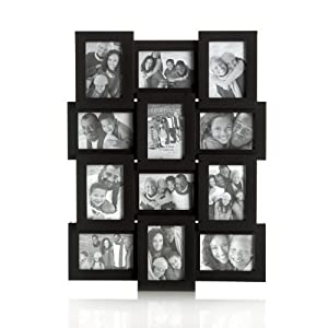 Amazon.com - Melannco Mini Black Collage, Holds 12 Photos
