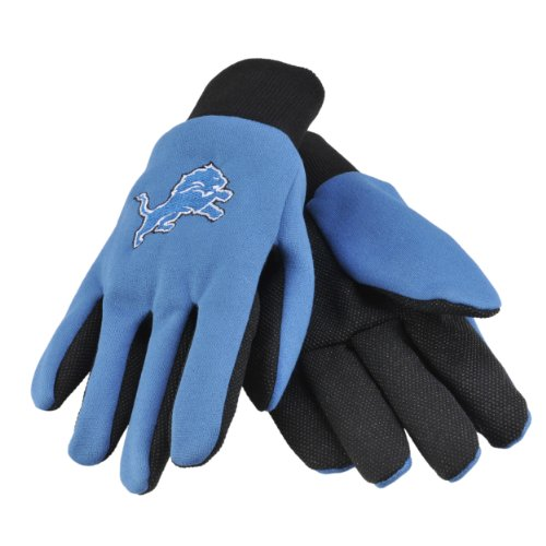 NFL Detroit Lions Work Gloves at Amazon.com
