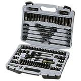 Husky 99-Piece Black Chrome Mechanics Tool Set