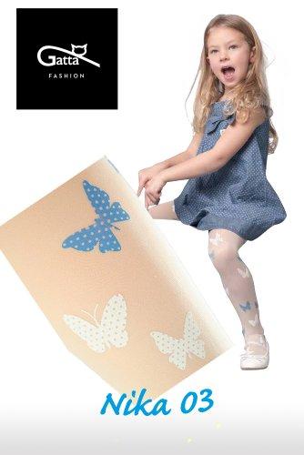 Gatta Nika 03 - gemusterte Kinderstrumpfhose