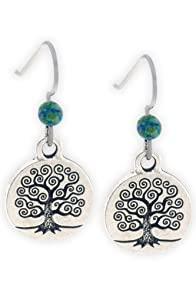 Imagine Jewelry Tree of Life Made in USA Earrings