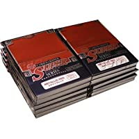 KMC Card Barrier Super Series Standard Size Deck Protectors - Metallic Red [10 packs]