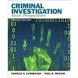 img - for Criminal Investigation Basic Perspectives Twelfth Edition (Criminal Investigation Basic Perspectives Twelfth Edition) book / textbook / text book