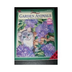 One Stroke Garden Animals Donna S. Dewberry