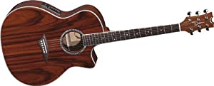 Dean Exotica Andes Acoustic-Electric Guitar, Gloss Natural