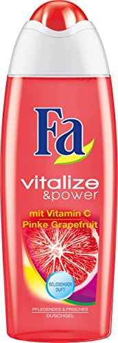 Fa Vitalize & Power Duschcreme, Vitamin C & Pinke Grapefruit, 3er Pack (3 x 250 ml)
