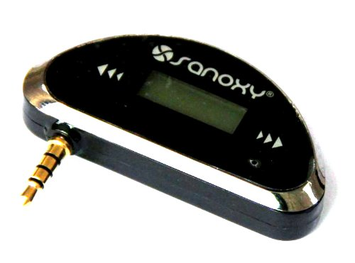 Sanoxy® Mini Car Fm Transmitter Usb Powered For Mp3 For Smart Phone/Htc/ Blackberry, Smartphones With Fast Car Charger