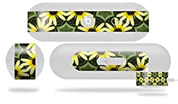 Daisies Yellow Decal Style Skin - fits Beats Pill Plus (BEATS PILL NOT INCLUDED)