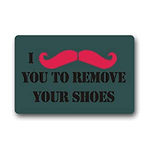 High quality and new fashion i mustache you to remove your shoes doormat patio - Remove shoes doormat ...