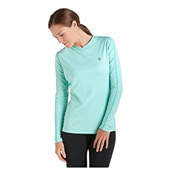 Coolibar UPF 50+ Ladies Long Sleeve Cool Fitness Shirt - Sun Protection by Coolibar