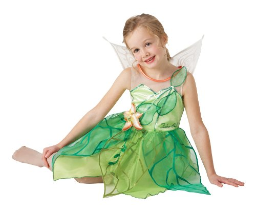 DISNEY PRINCESS (Fairies) Tinkerbell - Kids Costume 3 - 4 years