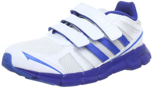 Adidas Performance adifast CF K Running Shoes Unisex-Child White Weià (running white ftw / blast blue f13 / pride ink f13) Size: 5 UK (38 EU)