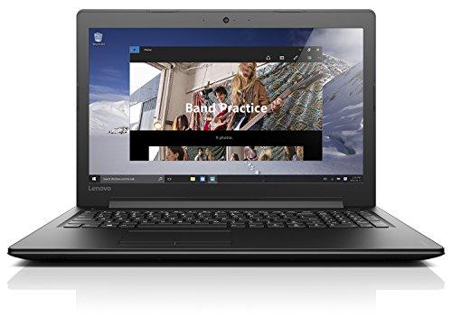 Lenovo ideapad 310 39,62cm (15,6 Zoll Full HD Glare) Notebook (Intel Core i5-7200U, 3,1GHz, 8GB RAM, 1TB HDD + 128GB SSD, Intel HD Grafik 620, Windows 10 Home) schwarz