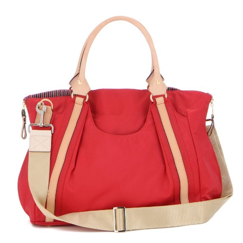 Danzo Diaper Hobo Bag, Fire Engine Red front-913752