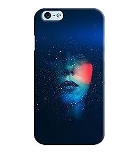 Clarks Girl Eye Inspired Hard Plastic Printed Back Cover/Case For Apple iPhone 6s