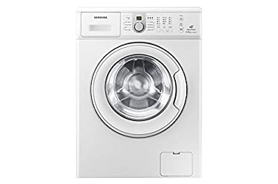 Samsung WF1600NCW Fully-automatic Front-loading Washing Machine (6 Kg, White)