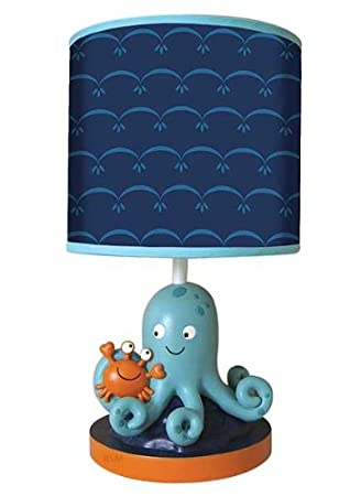 Lambs & Ivy Lamp with Shade and Bulb, Bubbles and Squirt