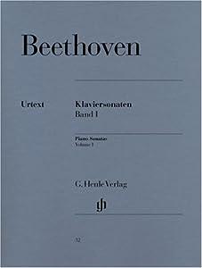 Piano Sonatas Vol 1 - Piano - Hn 32 by G. Henle Verlag