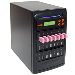 SySTOR 1 to 20 Multiple USB Thumb Drive Duplicator / USB Flash Card Copier (USBD-20)