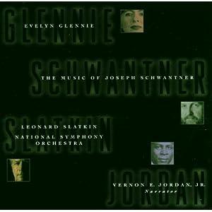 Evelyn Glennie, Leonard Slatkin, National Symphony Orchestra, Music of Joseph Schwantner