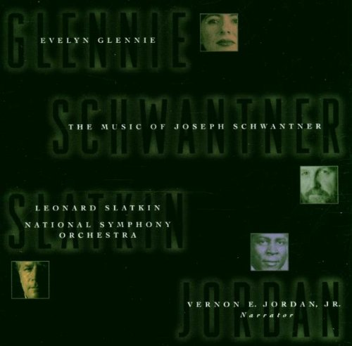 Concerto for Percussion (Evelyn Glennie) and New Morning for the World. Joseph Schwantner. National Symphony Orchestra, Slatkin. RCA Red Seal BMG 09026 68692-2 (1997)