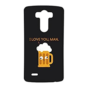 Mobile Cover Shop Glossy Finish Mobile Back Cover Case for LG G3