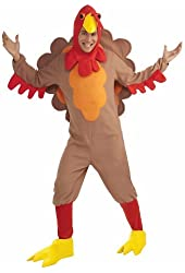 Adult Fleece Turkey Costume