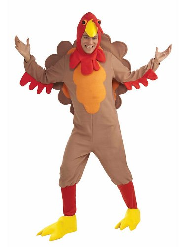 Adult Fleece Turkey Costume - Standard - Chest Size 32-36