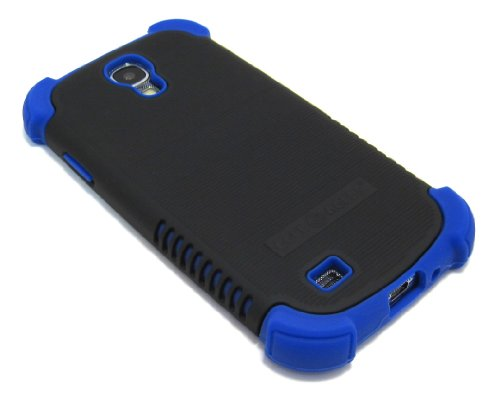Cell-Nerds Nerdshield Grip Case Cover For The Samsung Galaxy S4 - Cell-Nerds Packaging (Black On Blue)
