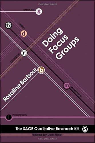 "Cover of ""Doing Focus Groups"""