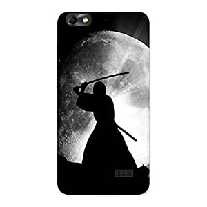 Ajay Enterprises Moon Warrior Back Case Cover for Honor 4C