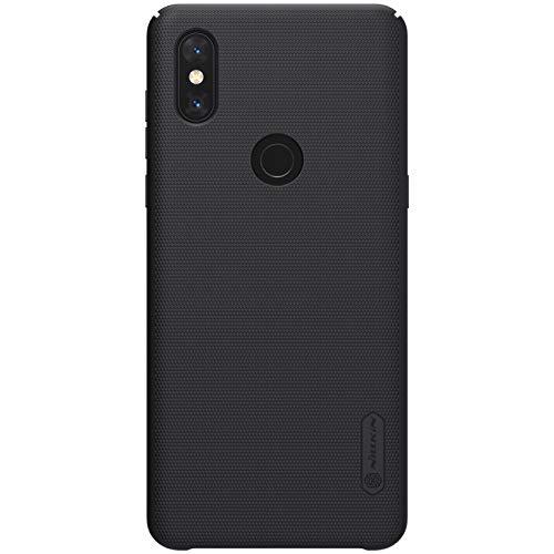 for xiaomi mi Mix 3 Case,Nillkin [with Kickstand] Frosted Shield Anti Fingerprints Hard PC Case Back Cover for xiaomi mi Mix 3 -Retail Package (Black) [+Peso($65.00 c/100gr)] (CN.AZ.8.98-0-B07L4J4TW1.937)