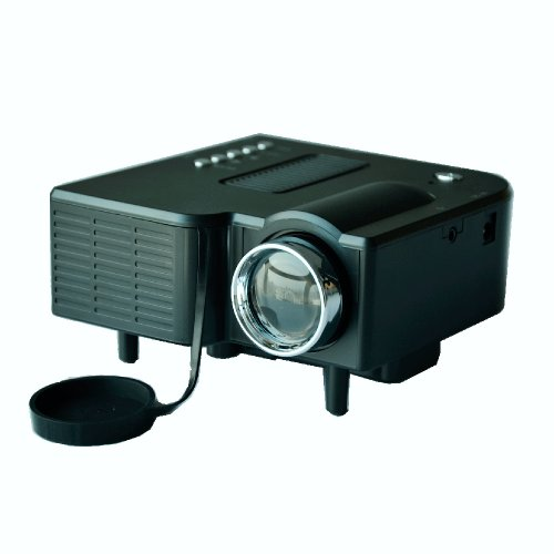Black Color 20000Hrs Long Life 24W Mini Multimedia Lcd Image System Led Projector With Sd / Usb / Av / Vga /Hdmi Port. Package Includes: Dc Adaptor , User Manual , Projector, Remote Control , 3-In-1 Av Cable.