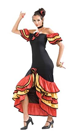 Amazon.com: Forum Novelties Women's Spanish Lady Costume ...